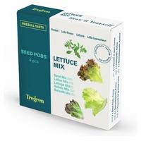 "Lettuce mix: arugula, oak leaf, lettuce and romaine ""little lerpechaun"""