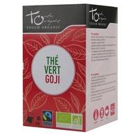 Thé vert à la Goji