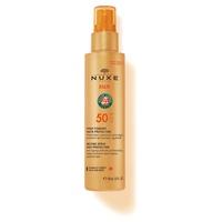 Nuxe Sun - Spray fundente para rostro y cuerpo alta protección SPF50
