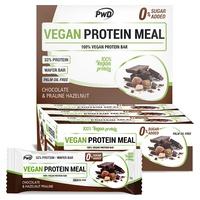 Barras de chocolate com proteína vegana e praliné de avelã