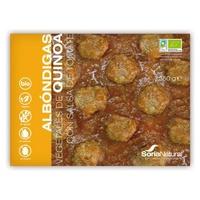 Albóndigas Vegetales de Quinoa con Salsa de Tomate