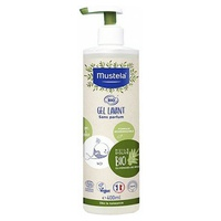 Organic fragrance-free cleansing gel for the body