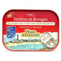 Brittany sardines in tomato sauce in olive oil