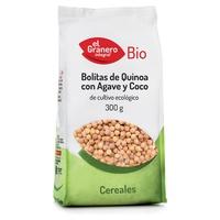 Bolitas de Quinoa Con Agave y Coco BIO