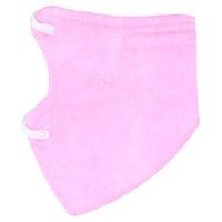 Máscara infantil rosa KN95