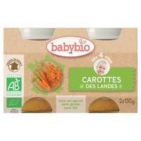 Organic Landes Carrot Pots (from 4 months)