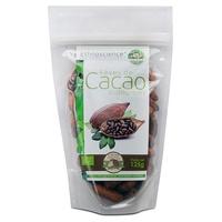 Organiczne całe ziarna kakaowe
