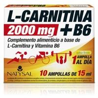 L-Carnitina 2000 mg + B6