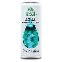 Native Organics Agua Mineral 0% Plástico