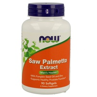 Sabal (Saw Palmetto) padronizado para esteróis a 95% com abóbora e zinco
