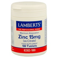 Zinc as Citrate
