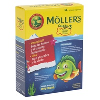 Möller's Gominolas Omega 3
