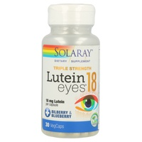 Lutein Eyes 30 cápsulas de 18 mg de Solaray - Kal