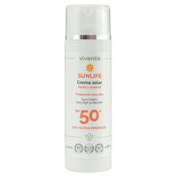 Facial and Body Sun Cream SPF 50+ with Mineral Filters