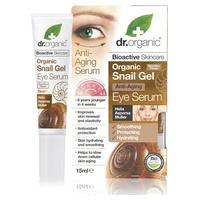 Organic Snail Suero Gel Contorno de Ojos