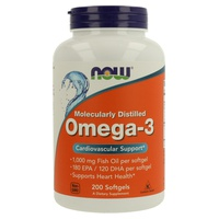 Omega-3 1000mg Molecularly Distilled