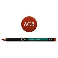 Lip pencil 608 Orange Brown