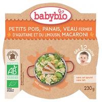 Mijoté de Petits pois Panais Veau fermier d'Aquitaine Macaroni