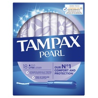 Tampax Pearl Lites 18U