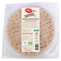 Bases para pizza con trigo sarraceno Bio