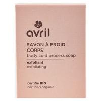 Złuszczające zimne mydło do ciała - Certyfikowane produkty ekologiczne