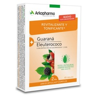 Arkocápsulas Complex Guarana and Eleutherococcus - Stimulating and Toning