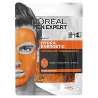 Men expert hydra energetic mascarilla do twarzy tejido