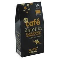 Organicznie mielona kawa o smaku waniliowym