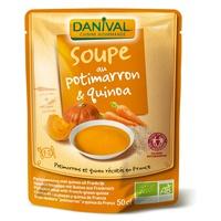 Sopa de Calabaza y Quinoa