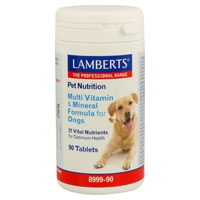 Pet Nutrition Multivitamins and minerals for dogs
