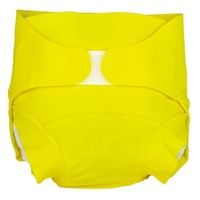 Washable diaper - Canary yellow model - Size L (9 - 17 kg)