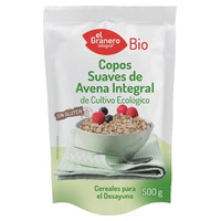 Organic gluten-free soft whole grain oat flakes