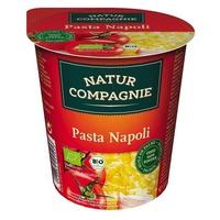 Pâtes Napoli avec sauce tomate bio