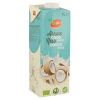 Bebida ecologica de arroz con coco