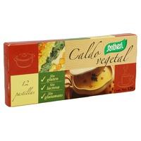Caldo Vegetal Cubitos sin Gluten sin Lactosa
