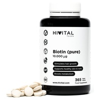 Biotina pura 10.000 mcg