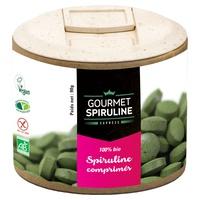 Organic Spirulina tablets Pillbox