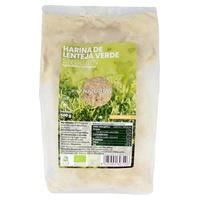 Organisches glutenfreies grünes Linsenmehl