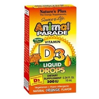 Gouttes de vitamine D3 Animal Parade