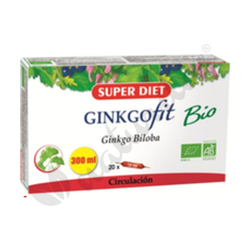 Ginkgofit Biloba 20 ampollas de 15 ml de Super Diet