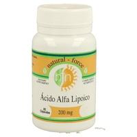 Ácido Alfa Lipoico 60 cápsulas de 200 mg de Nutri-Force