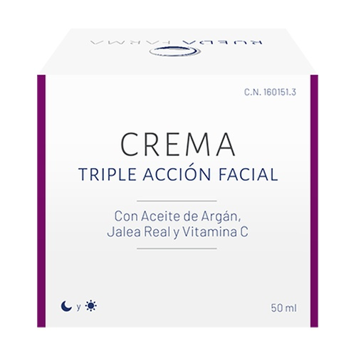 Crema Triple Acción Facial