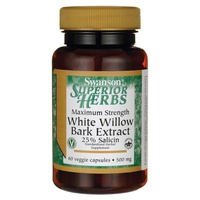 White Willow Bark Extract, 500mg