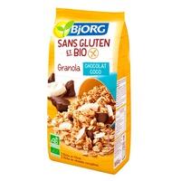 Granola al cioccolato e cocco senza glutine