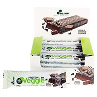 Veggie protein bars double brownie flavor
