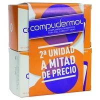 Pack Duplo Complidermol Piel, Cabello y Uñas