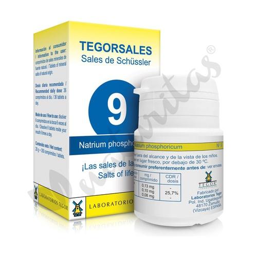 Natrium Phos D6 Sales 9 350 comprimidos de 20 g de Tegor