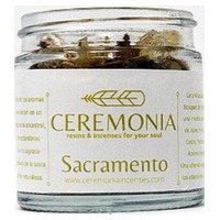 Sacramento mix of resins and incenses with a scent of woods and forest