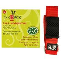Pulsera Antimosquitos Roja