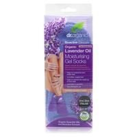 Organic Lavender Moisturizing Gel Socks